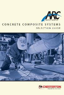 Concrete composite guide