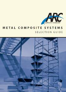 Metal composite guide