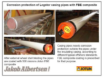 Logstor casing pipes
